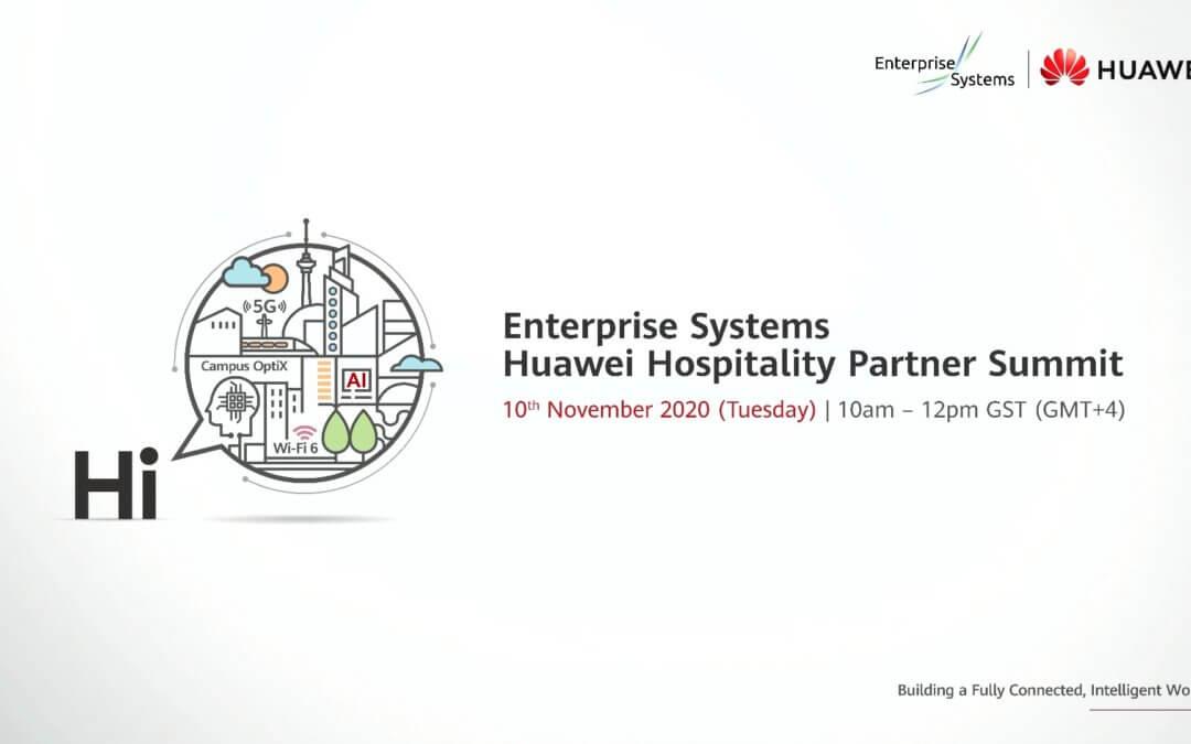Enterprise Systems – Huawei Hospitality Partner Summit 2020