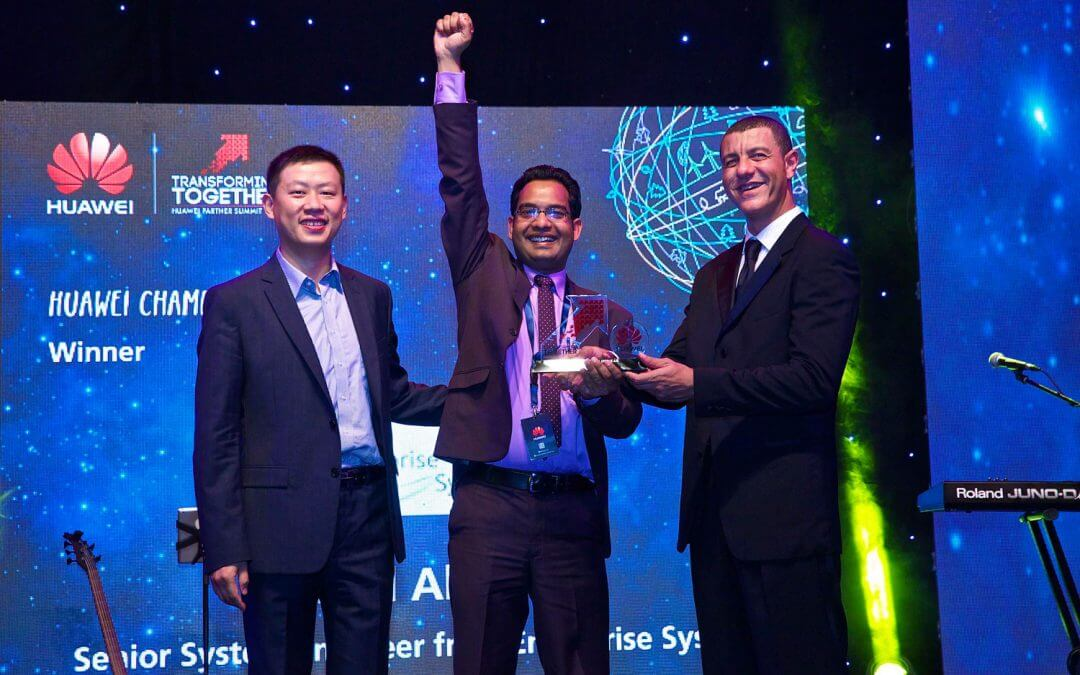 Huawei Champion Of the Year award