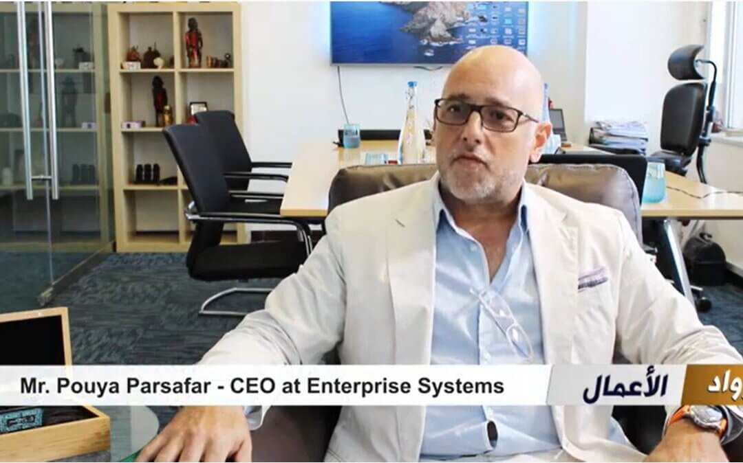 Enterprise Systems Interview with Sama TV, on partnership with Huawei